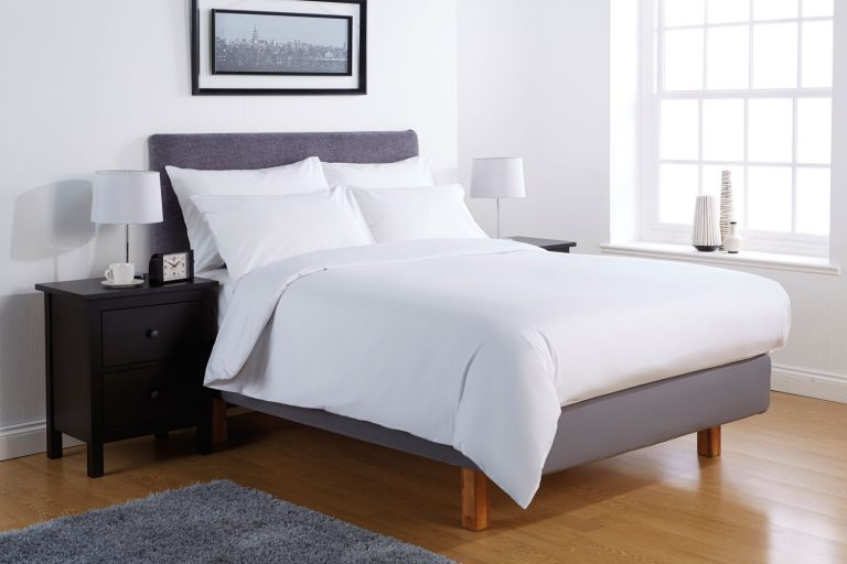 Percale pillowcase White (pair)