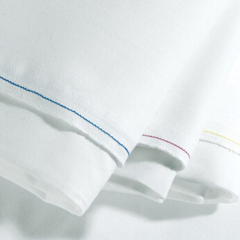 Pyramid pillowcase white (pair)