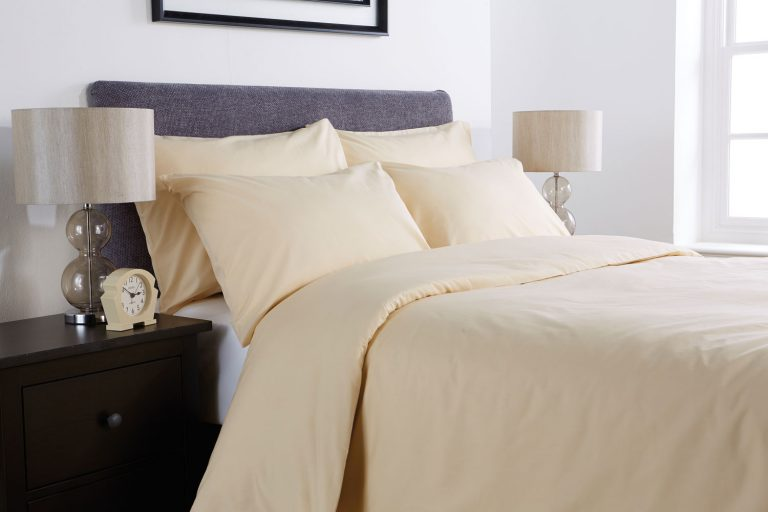 Percale pillowcase Oatmeal (pair)